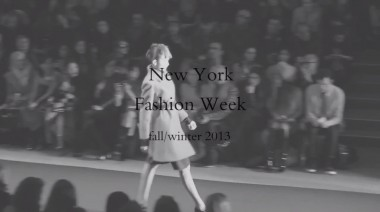 Last thoughts from the New York Fashion Week